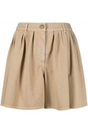 Moschino Shorts anchos con pinzas