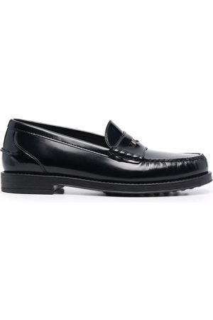 Tod's Logo-plaque penny slot loafers