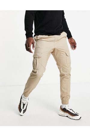 Another Influence Cargo trousers in stone
