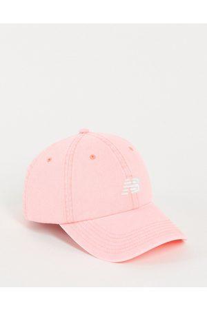 New Balance Core logo baseball cap in pink