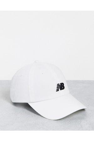New Balance Core logo baseball cap in white