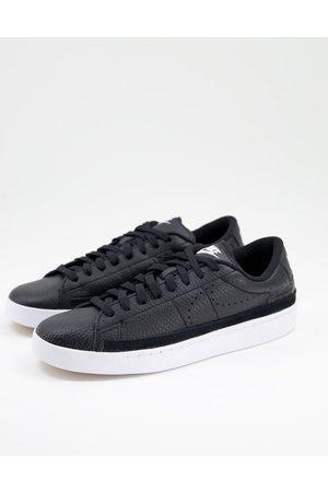 Nike Blazer Low X Premium trainers in black leather