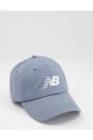 New Balance Core logo baseball cap in grey