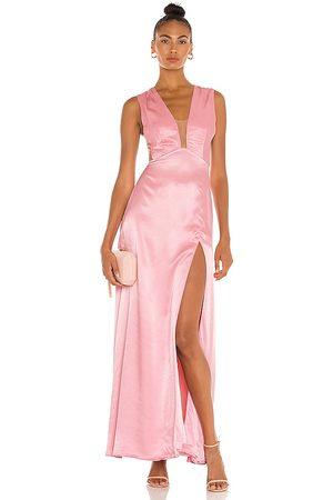 Sau Lee Vestido largo genevie en color talla 0 en - Pink. Talla 0 (también en 10, 2, 4, 6, 8).