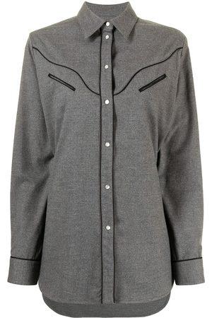 MM6 Maison Margiela Mujer Camisas - Camisa estilo western