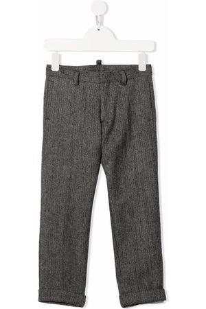 Dsquared2 Pantalones tejidos con motivo chevron