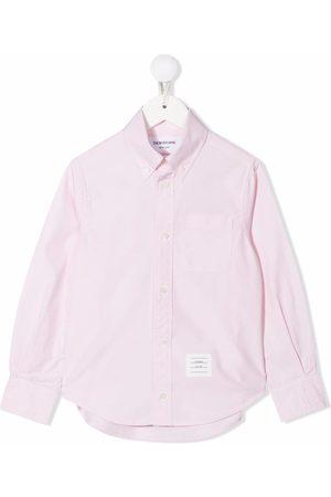 Thom Browne Camisa con detalle RWB