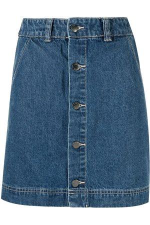 Izzue Mujer Minifaldas - Minifalda de mezclilla