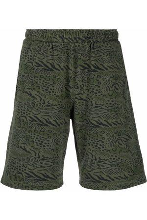 Kenzo Animal print shorts