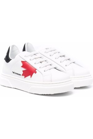 Dsquared2 Maple-leaf print sneakers