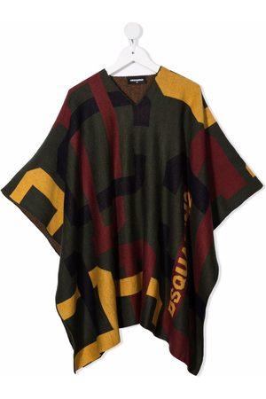 Dsquared2 Fine-knit poncho