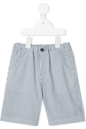 Familiar Shorts con motivo de rayas