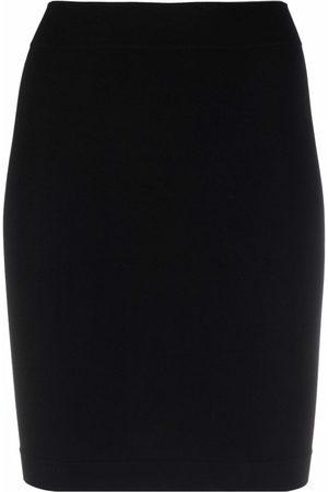 Adamo High-waisted pencil miniskirt