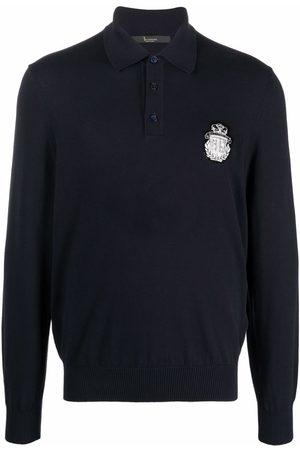 BILLIONAIRE Polo con parche del logo bordado