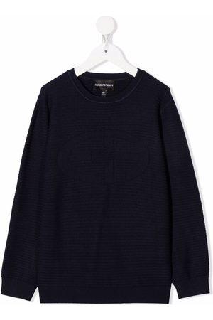 Emporio Armani Suéter con cuello redondo