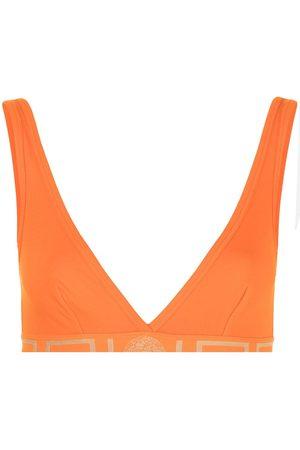 VERSACE Mujer Sin varillas - Greca Border soft-cup bra