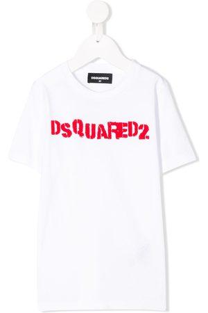 Dsquared2 Playera con logo estampado