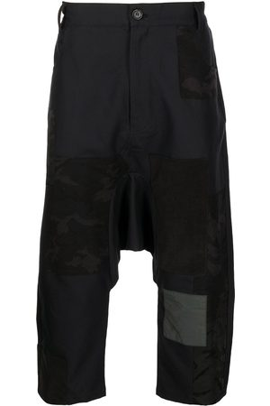 MOSTLY HEARD RARELY SEEN Pantalones con diseño patchwork