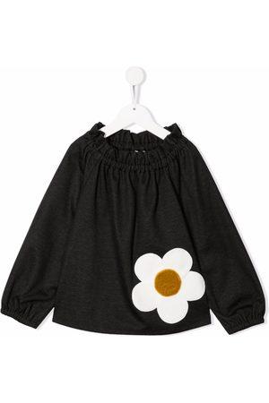 Piccola Ludo Blusa con detalle floral