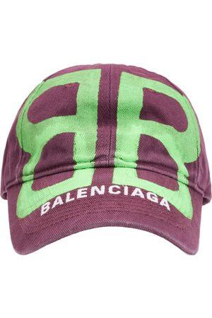 Balenciaga Hombre Gorras - Gorra Bb De Algodón