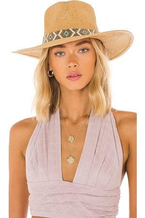 Nikki Beach Sombrero nikki en color bronce talla all en - Tan. Talla all.