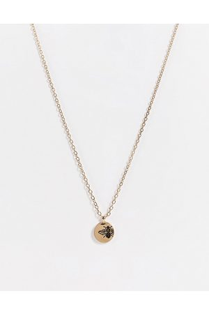 Icon Brand Bee pendant in gold