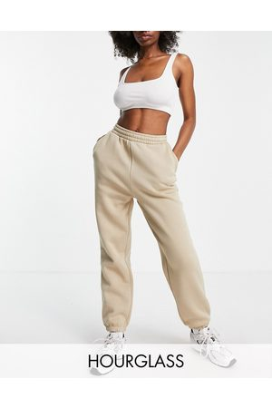 ASOS DESIGN Mujer Leggings y treggings - Hourglass ultimate jogger in neutral