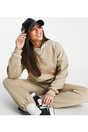 ASOS ASOS DESIGN Tall tracksuit ultimate sweat / jogger in neutral