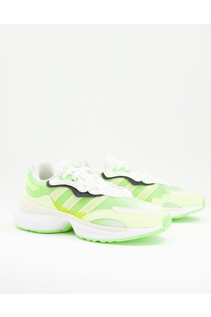 adidas Zentic trainers in yellow
