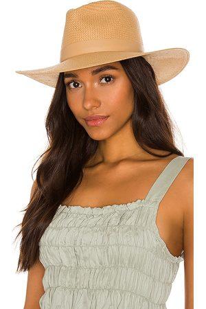 Janessa Leone Sombrero simone en color neutral talla M en - Neutral. Talla M (también en S).