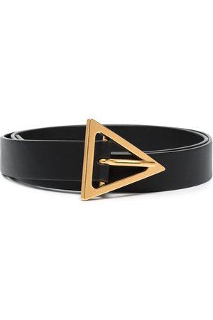 Bottega Veneta Mujer Cinturones - Cinturón con hebilla triangular
