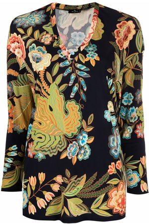 Etro Blusa con estampado floral