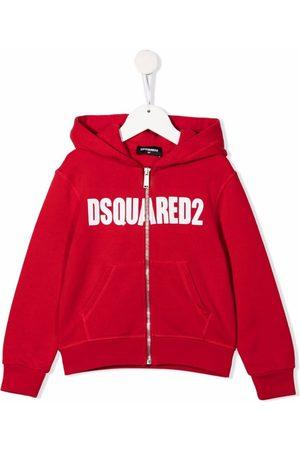 Dsquared2 Kids Niño Con capucha - Hoodie con logo estampado y cierre