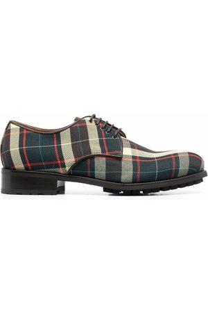 Vivienne Westwood Zapatos derby con motivo de cuadros tartán
