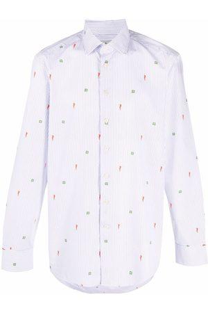 Etro Hombre Camisas - Camisa con detalles bordados