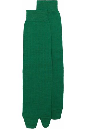 Maison Margiela Hombre Calcetines - Calcetines tejidos de canalé