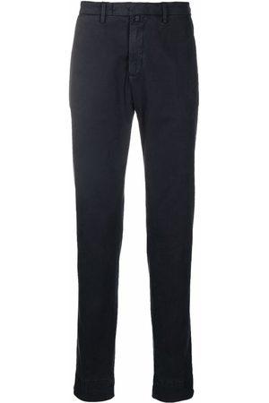 BRIGLIA Pantalones chino de corte slim
