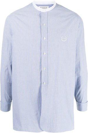 Maison Margiela Camisa sin cuello con botones