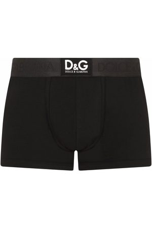 Dolce & Gabbana Bóxer con logo en la pretina