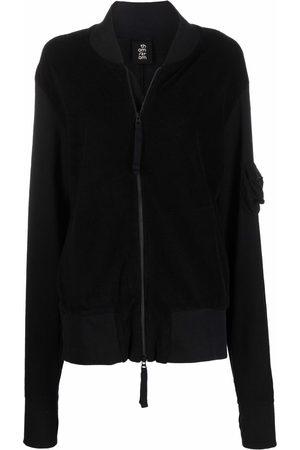 THOM KROM Panelled zipped jacket