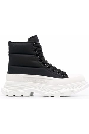 Alexander McQueen Tread Slick padded lace-up sneakers