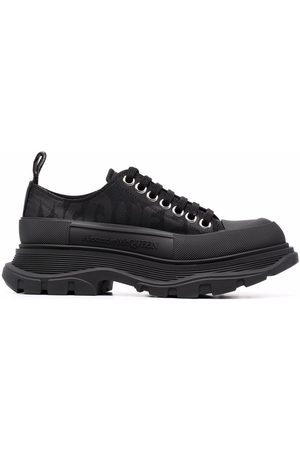 Alexander McQueen Mujer Tenis - Oversize-sole lace-up sneakers