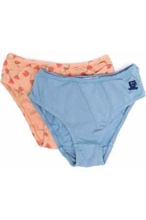 Bobo Choses 2 pack floral-print pants
