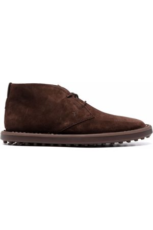 Tod's Hombre Botines - Lace-up suede ankle boots