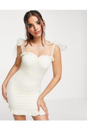 Skylar Rose Sweetheart neckline mini dress in