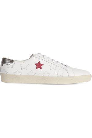 Saint Laurent Sneakers De Piel Con Estrellas