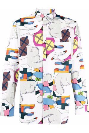 Comme des Garçons Graphic-print cotton shirt