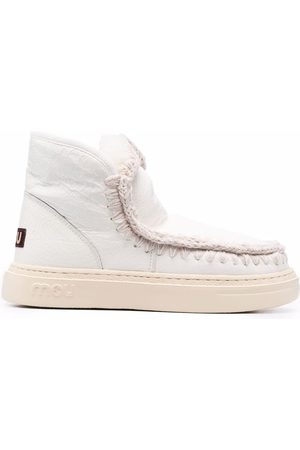 Mou Leather ankle boots