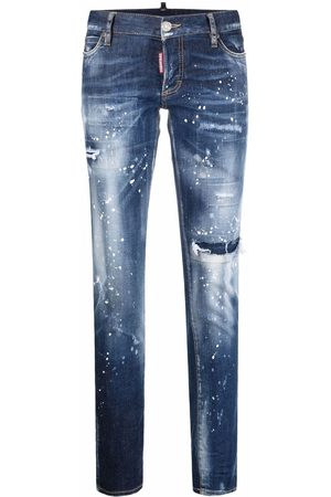 Dsquared2 Distressed-effect skinny-fit jeans