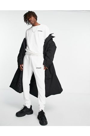 Sixth June Essential tracksuit in off white